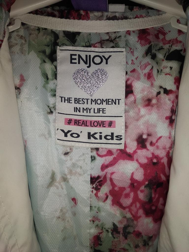 Парка- ветровка YO kids 134-140р.