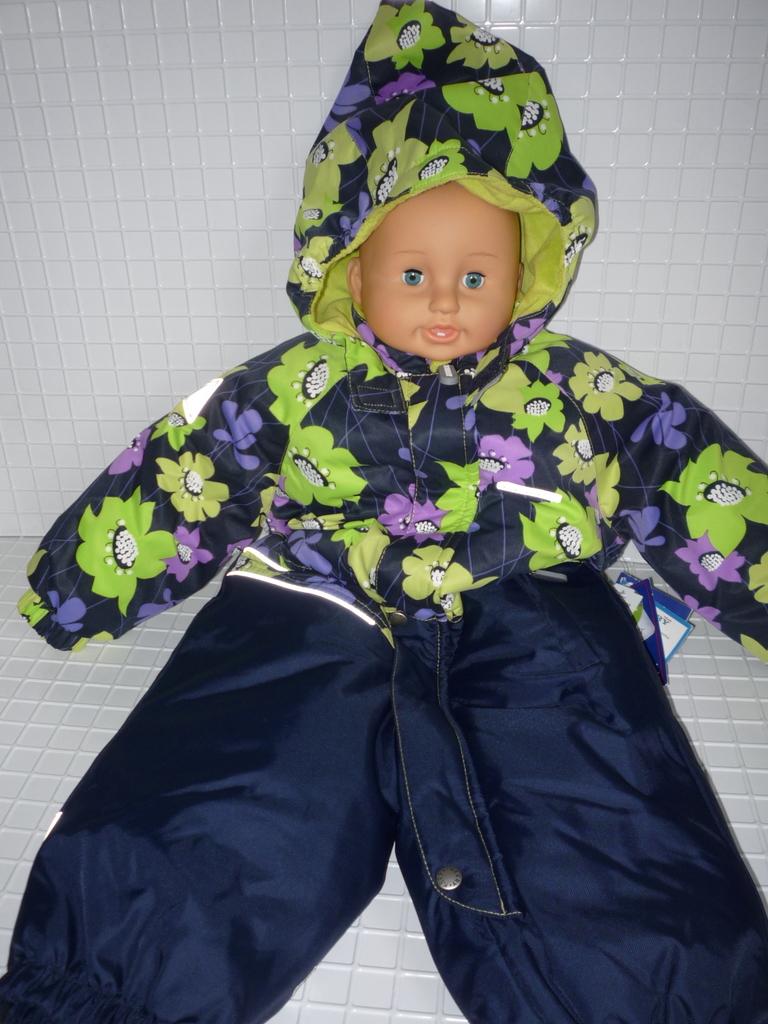 Kerry Керри новый зимний комбинезон р 74 девочка