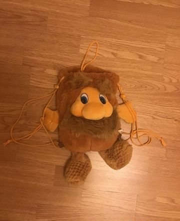 Мягкая игрушка-рюкзачок Тёпа