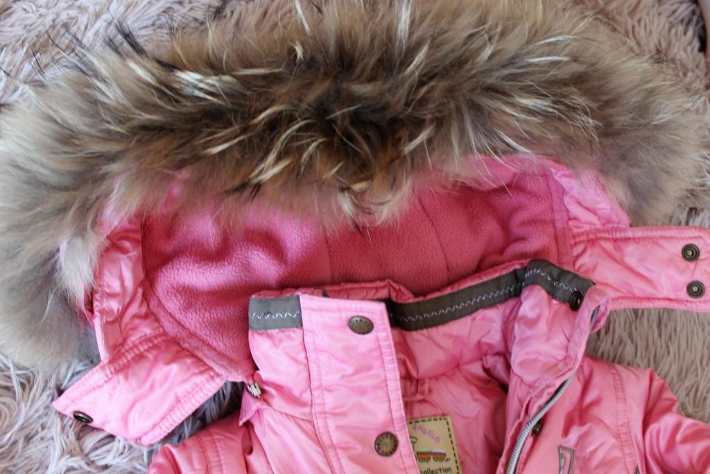 Красивый зимний комплект 92-98 +шапочка