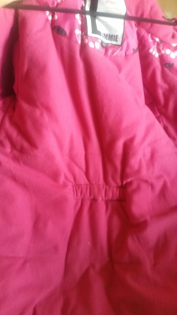 Куртка-пальто lummie зима размер 122