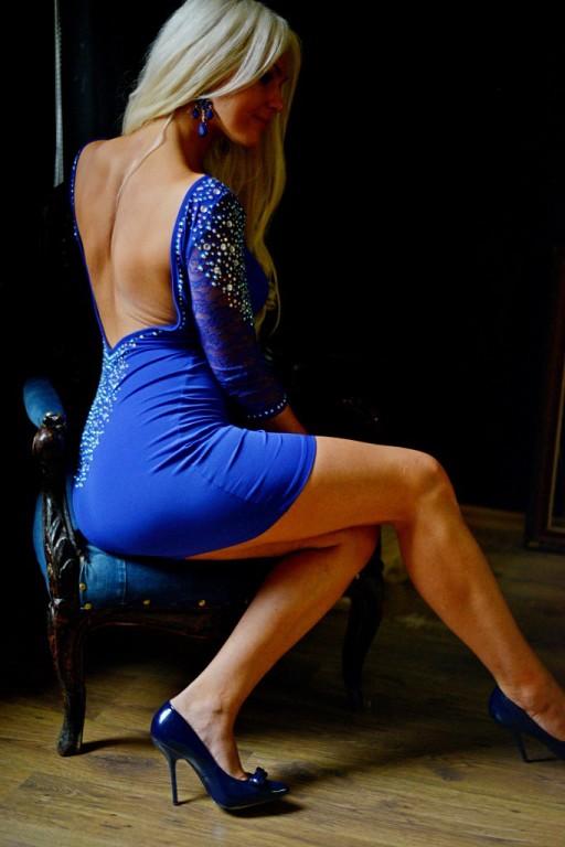 новое платье с открытой спиной