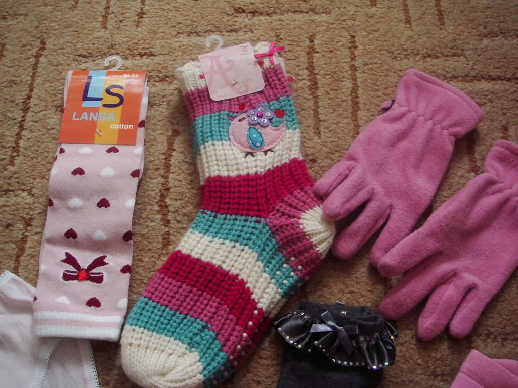 Д/д новый пакет носки и трусы