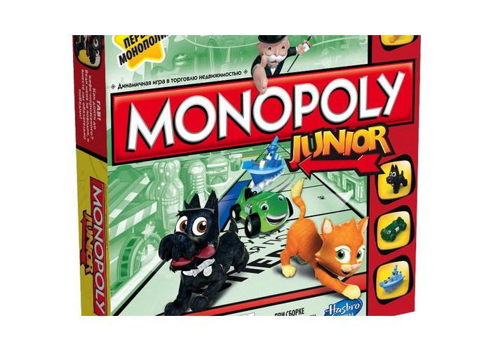 """Игра Монополия """"Моя первая монополия"""" A6984E76"""