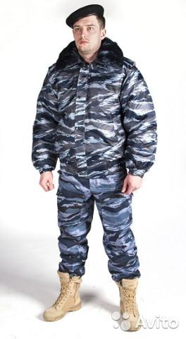 "Зимняя куртка ""оперативка"" камуфлированная 50р."