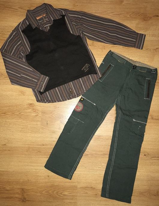 Рубашка Timberland и штаны Chevignon 122-128