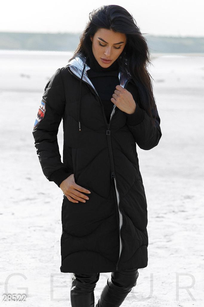 Стильная зимняя куртка пуховик новая