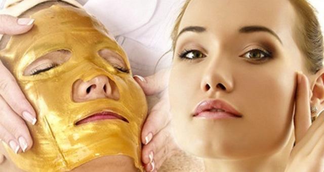 золотая маска для лица вокруг глаз
