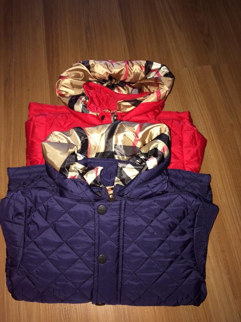 Утепленные стеганые курточки на 98,110 см