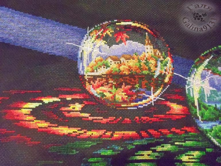 Вышивка крестиком шары желаний