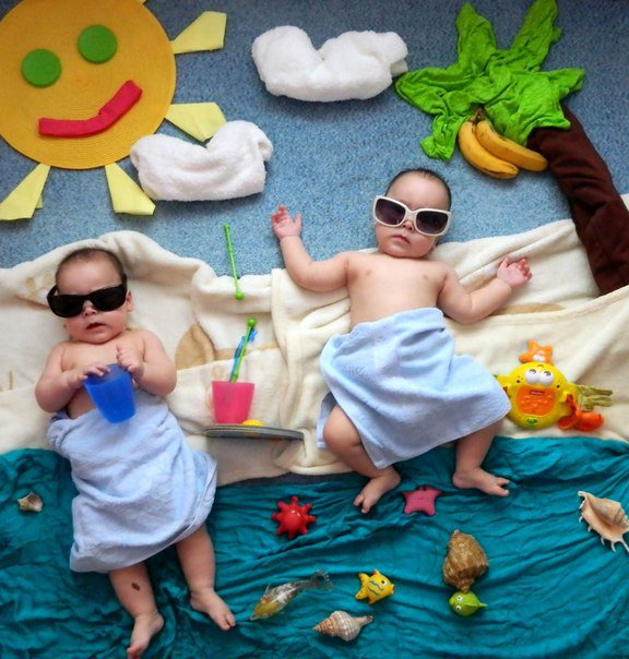 идеи для фото для малышей