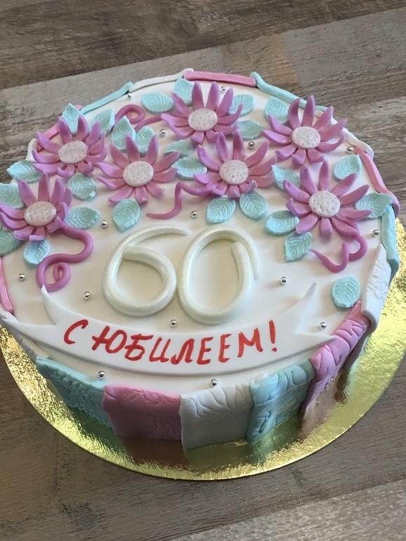 Картинки тортов на 60 лет, цветы для