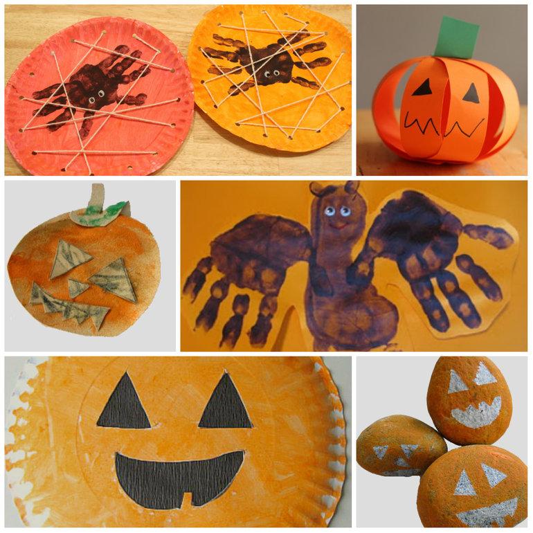 Поделки и картинки к хэллоуину