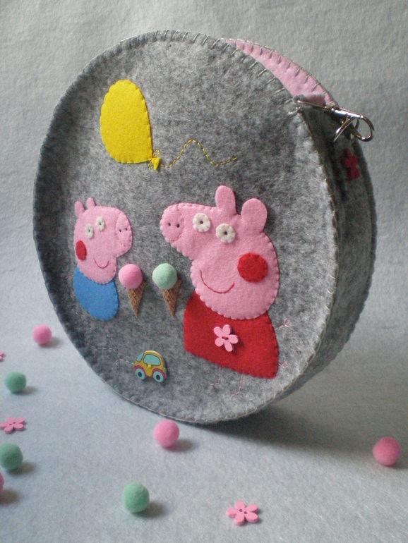 f647dac6e367 Сумочки из фетра) - детские сумочки из фетра своими руками - запись ...