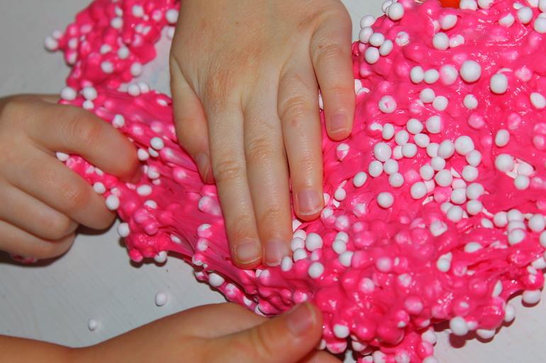 Шариковый пластилин как сделать своими руками