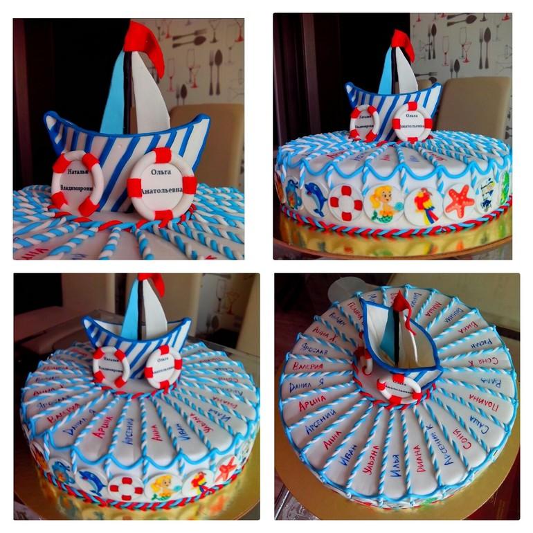 Торт покрытый шоколадом и фруктами фото 6