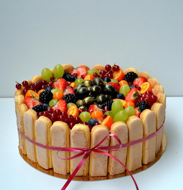 Тирамису торт украшение