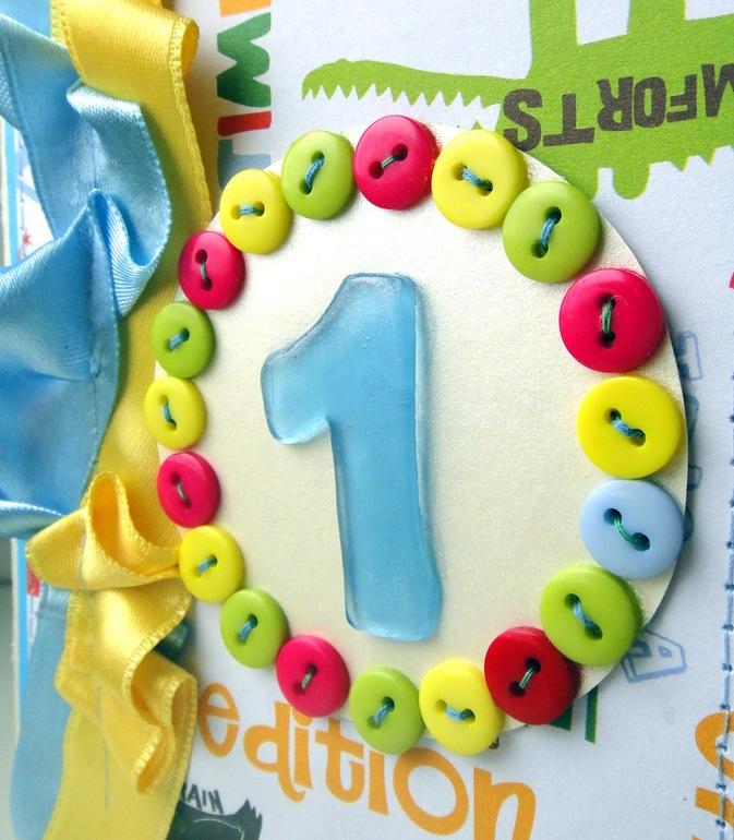 Открытки своими руками на день рождения на 1 годик