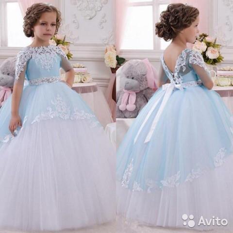 Самое красивое платье для детей