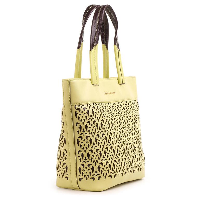Дизайнерский рюкзак бронза с выбитым рисунком: продажа