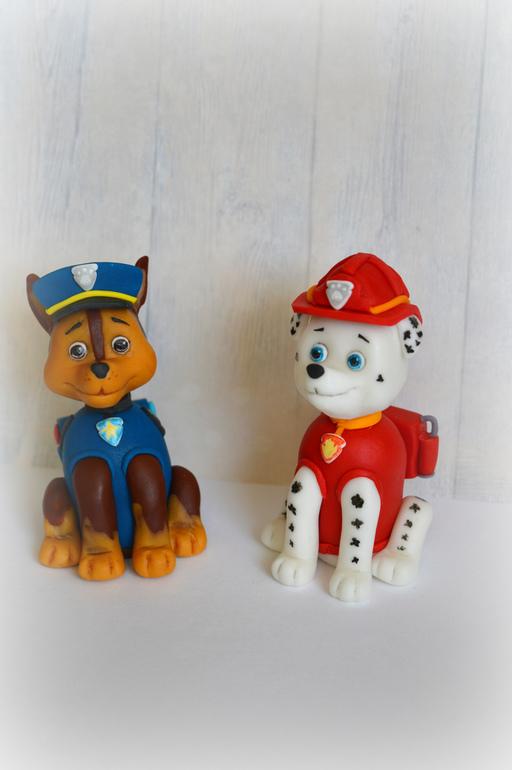 готовые фигурки из мастики для торта щенячий патруль купить