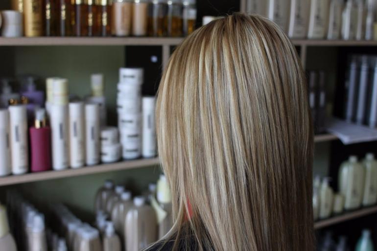 мелирование мелкое на темные волосы фото