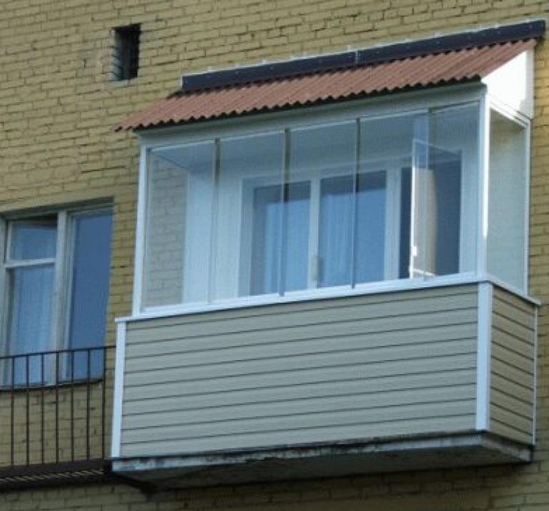 Лиана для белья - из чего сделать потолок на балконе - запис.