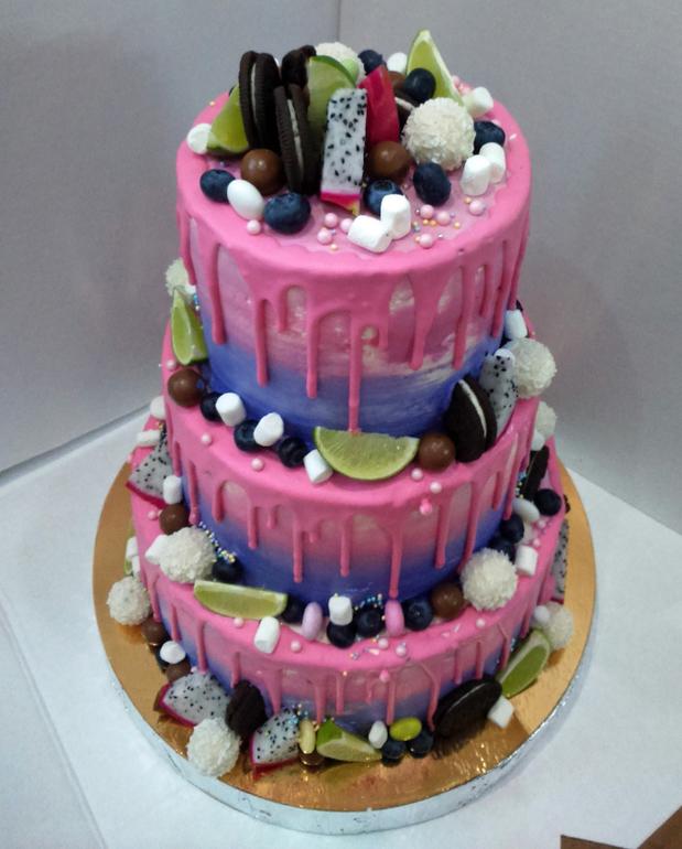 Торт день рождения 2 года фото 5