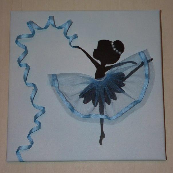 Девочка балерина картинка для поделки