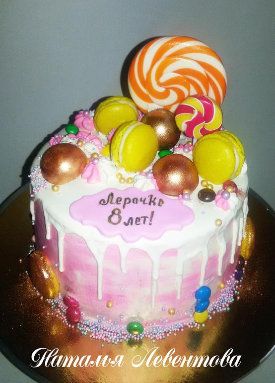 торт мастика фото для девочки