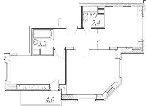 Стену кухни сдвинули в комнату на 65 см. можно ли узаконить