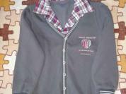 Толстовка с начесом р. 122 с рубашкой обманкой
