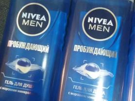 Nivea гель для душа пробуждающий мужской 250 мл