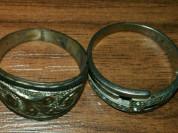 Два кольца, серебро 925 и 875