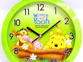 Настенные детские часы Винни Пух