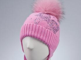 Шапка Chobi /Чоби для девочки ,розовый.