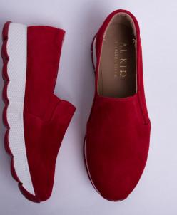 купить красные слипоны №340