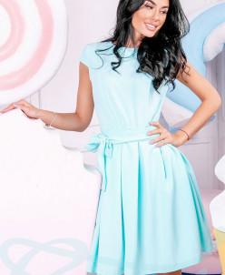 Нежное приталенное платье Gepur