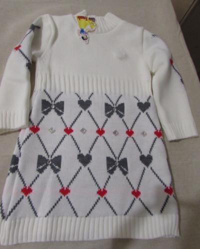 платье вязаное  размер 104- 110