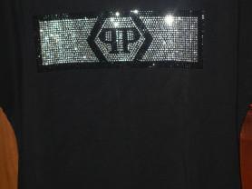 Новая футболка Philipp Plein в черном цвете