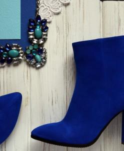 Велюровые изящные ботинки. New collection 17-18!