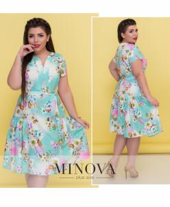 Платье №8-57-Ментол