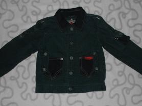Куртка вельветовая Sela, 98-104 см