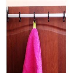 Вешалка на дверь 40 см - 6 крючков