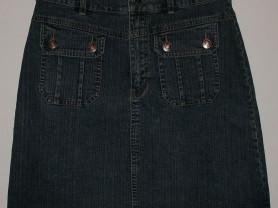 Юбка джинсовая стрейч фирменная STREET ONE - ОБ 90