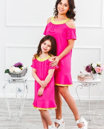 тут калачи для дочки и мамы одинаковые Виктора