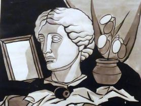 Декоративный натюрморт с Венерой