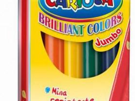 Карандаши цветные Universal carioca jumbo 6 цв