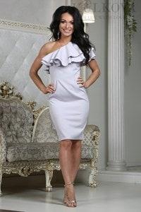 Платье Верона св.серое