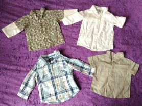Пакет рубашек, 6-12мес
